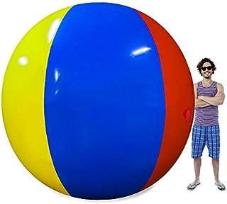 Sol Coastal The Beach Behemoth Giant Inflatable 12-Foot Pole-to-Pole Beach Ball