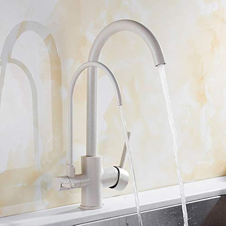Lddpl Chrom Schwarz Küchenarmatur Messingkran Für Küche Deck Montiert Wasserfilter Wasserhahn Drei Mglichkeiten Waschbecken Mischer 3 Way Küchenarmatur