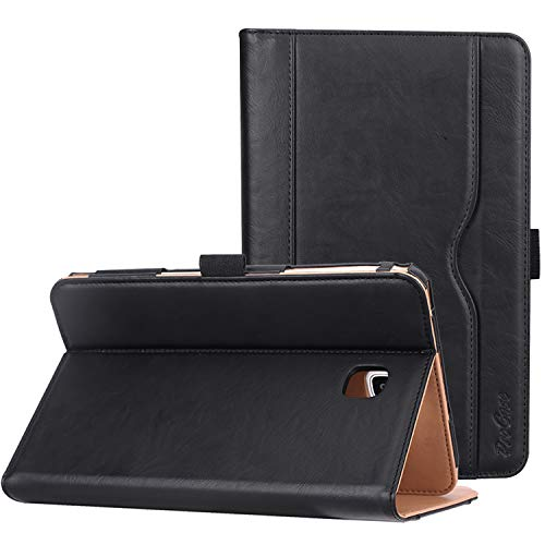 ProCase Folio Case for Galaxy Tab A 8.0 2018 Verizon Sprint SM-T387, Stand Case Cover for Galaxy Tab A 8.0 4G LTE Verizon/Sprint/T-Mobile/AT&T 2018 Release -Black