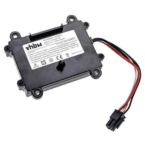 vhbw Akku kompatibel mit Bosch Indego 350, 400, M+ 700, M 700, S+ 350, S+ 400 (2000mAh, 18V, Li-Ion)
