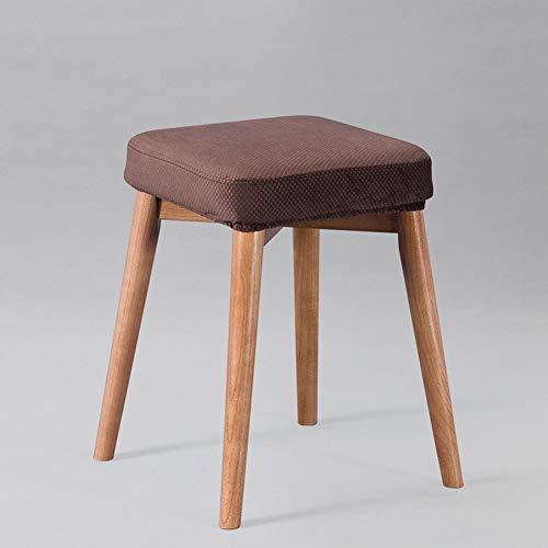 Barkruk, barkruk, kruk, voor het huishouden, van massief hout, vierkant, wasbaar, wasbaar