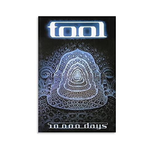 SHUUG Tool 10000 Days Poster su tela e arte da parete Stampa artistica moderna camera da letto di famiglia poster 20 x 30 cm