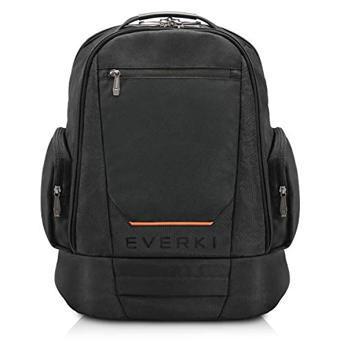 Everki ContemPRO 117 Large Spacious 18.4-Inch Gaming or Workstation Laptop Backpack with Rain Cover (EKP117B)