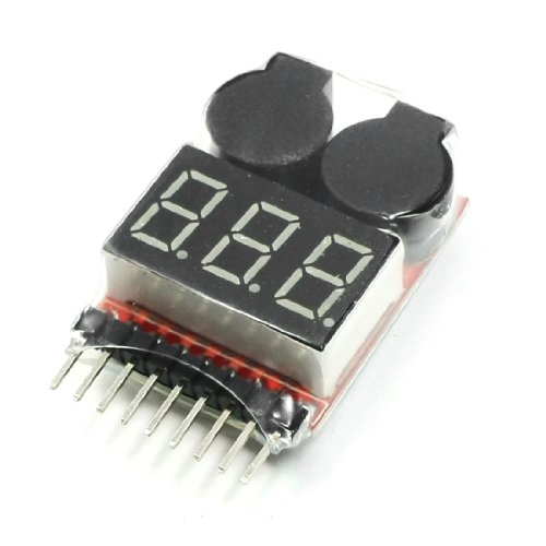 uxcell Lipo Battery Voltage Tester Low Buzzer Alarm