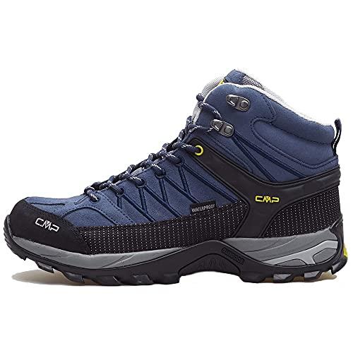 CMP Herren Rigel Mid Trekking Shoes, Lead-b.Blue, Gr.47