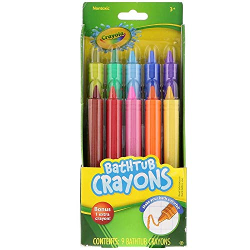 Crayola Bathtub Crayons 10 Count (2 Pack)