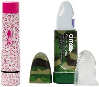 全身うぶ毛処理器 Downy Hair Cutter any(エニィ) レオパードハート + V-Zone Heat Cutter any Stylish カモフラージュ セット