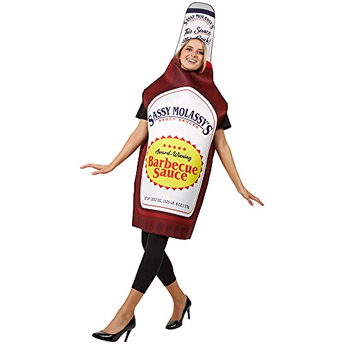 BBQ Sauce Halloween Costume - Funny Food Barbecue Condiment Outfits for Adults