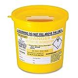 3x Sharpsguard Sharps Bin 2.5 litre - Yellow (Multi Pack)