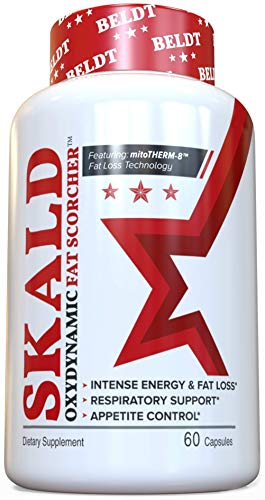 Skald Fat Burner - Experience Greater Energy Rush, Fat Loss and Mood Boost Than Banned ECA-Stack,...