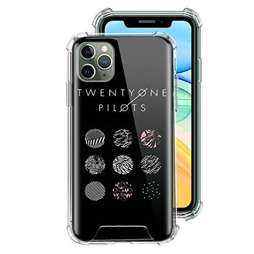 ZENGMING 21 Twenty One P Case für Apple iPhone Clear Soft Airbag Anti Handyhülle Schutzhülle A01 für iPhone 11 Hülle