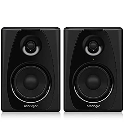 BEHRINGER Powered Studio Monitors Pair (STUDIO50USB) by Behringer