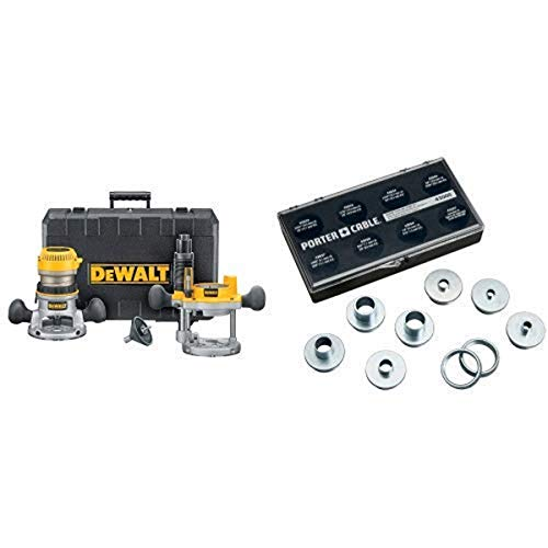 DEWALT DW616PK 1-3/4 Horsepower Fixed Base Plunge Router