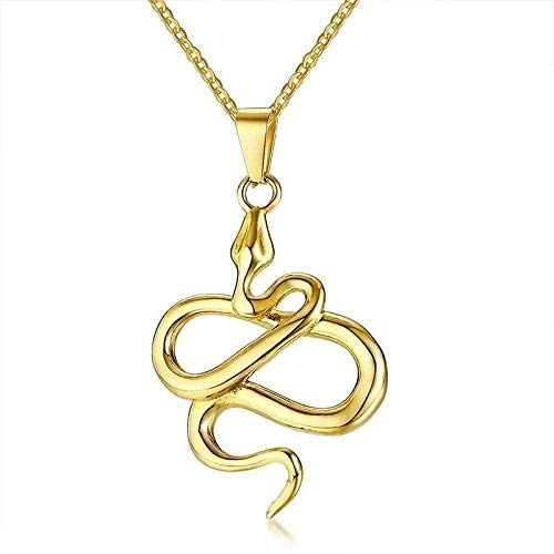 Yiffshunl Collar Moda Varios Tipos Satánico Lucifer Pentagrama Amuleto Cabra Satán Wicca Satanismo Colgante Collar Acero Inoxidable