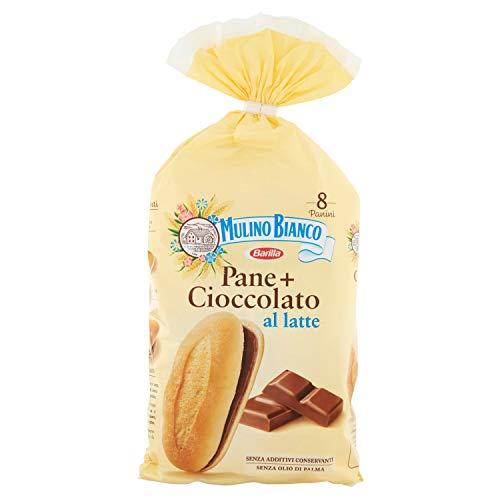 Mulino Bianco Kuchen pane + cioccolato 8x brot mit schokolade Schokoriegel 300g