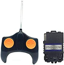 UFO 27mhz Remote Control and 12V Receiver Kit Remote Controller Transmitter Motherboard Accessories Children's Electric Ride On Car Replacement Parts