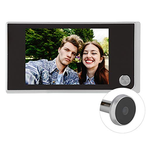 Digital Door Viewer, Ultra-Thin 3.5inch LCD Peephole with 120 Degree Electronic Cat Eye Camera for Home Security Easy to Install