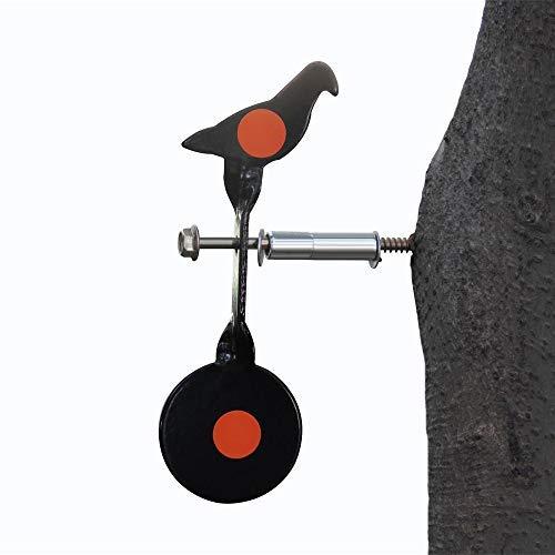 WINGS Spinner Air Gun Target Screwed-Type Steel Plinking Target Bird bb air Gun Target
