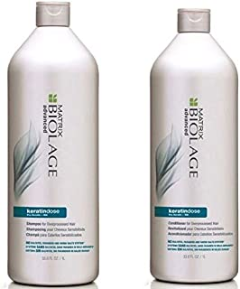 Matrix Biolage Advanced KeratinDose Shampoo & Conditioner Duo Pack - 1L