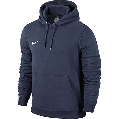 Nike Jungen Unisex Kapuzenpullover Team Club, Blau (Obsidian/football White), L - 3