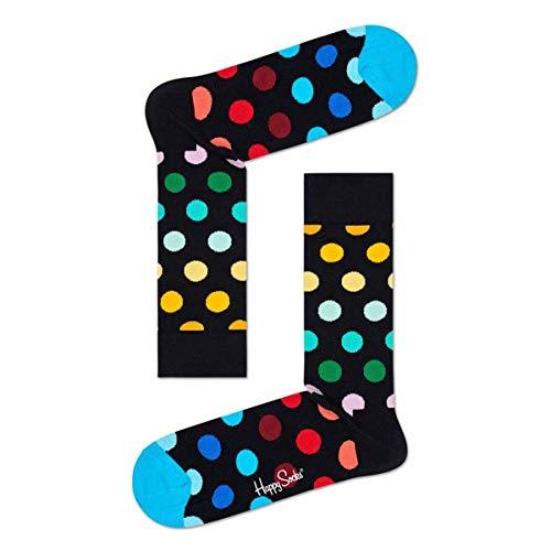 Happy Socks Big DOT Sock Calze, Multicolore (Multicolour 101), 7/10 (Taglia Unica: 41-46) Uomo