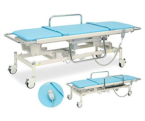 高田ベッド 電動ストレッチャー100 幅60×長さ200 座シート180 ×高さ48〜86cm クリーム TB-793
