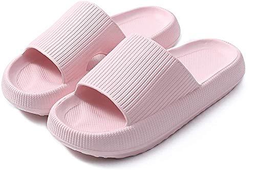XiuLi Traje de baño Unisex Sandalia Sandalia Zapatos de Playa y Piscina (Color : Pink, Size : 6.5-7 Women/5-5.5 Men)