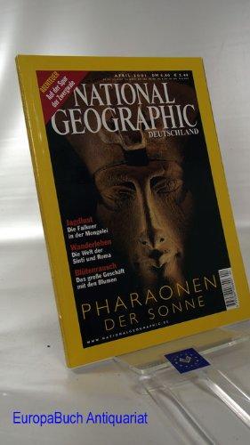 National Geographic. Deutschland. April 2001 (Heft 4; 2001). Pharaonen der Sonne. Report : Auf der Spur der Zwergwale.
