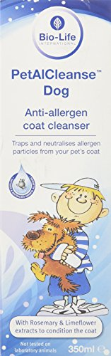 PetalCleanse Lotion anti-allergie pour chien 350 ml