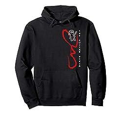 The Guitar Ninja pullover hoodie