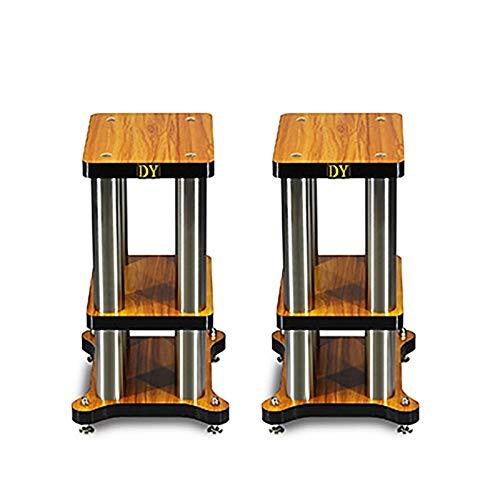 ZLYH Soporte de Altavoz, Speaker Stands Floor, Adecuado para Música Envolvente De...