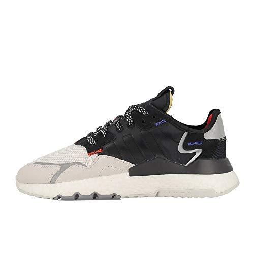 Adidas ORIGINALS Nite Jogger x 3M Sneaker EF9419 Unisex White Black 43