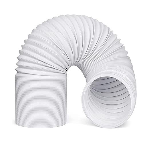 MOLVCE Klima Abluftschlauch 150mm Universal bluftschlauch aus PP und Stahldraht Schlauch Flexibler und Langlebig, für Klimagerät Mobile Klimaanlage Wäschetrockner Abzugshaube Trockner, 1,5 Meter