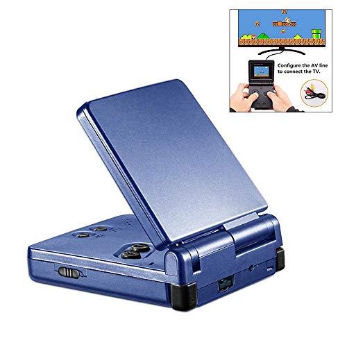 Tragbare Spielkonsole, 6,35 cm (2,4 Zoll), Retro Arcade Konsole, Mini-Konsole für Videospiele, Geburtstagsgeschenk für Kinder blau