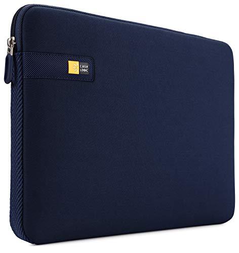 Case Logic LAPS Notebook Sleeve 133 Zoll traditionelle Hulle mit schutzender Schumpolsterung Dunkelblau