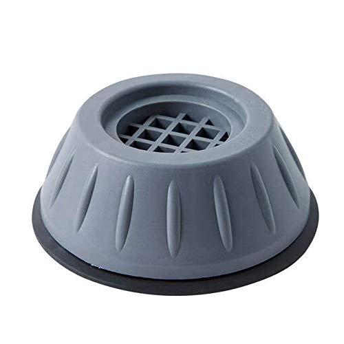 4 Pcs Waschmaschine FußPolster Schwarz Anti Vibration Pads FüR MöBel StoßDäMpfung Anti-Rutsch-Pad FüßE Waschmaschine