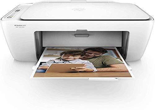 HP DeskJet 2622 Thermal Inkjet 7,5 Seiten pro Minute 4800 x 1200 DPI A4 WLAN - Multifunktionsgeräte (Thermal Inkjet, 4800 x 1200 DPI, 60 Blätter, A4, Direkter Druck, Weiß)