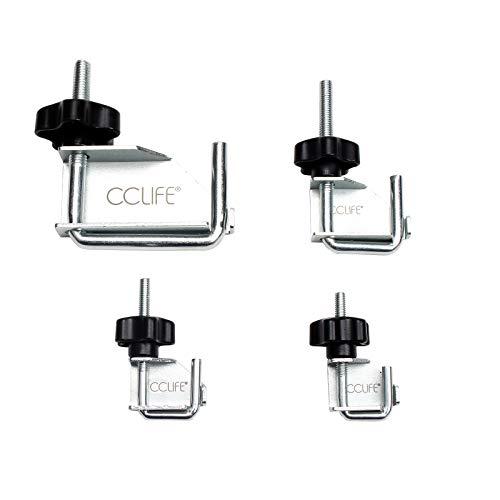 CCLIFE 4-pièces de pince à collier - Pinces de serrage pour flexibles ixés - ensemble d'outils de voiture pince tuyaux