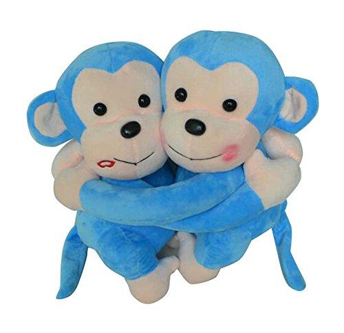 Black Temptation Beaux Enfants & Adultes Poupée Jouets Animaux de Compagnie Motif en Peluche Puppet-2 Purple Monkey