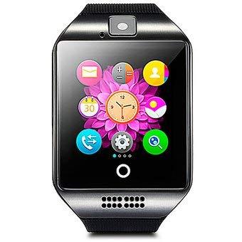 LKS Smartwatch LksTech Dz09 Multi-función BT,Cámara Frontal,Slot para Tarjeta Sim Y Microsd Dark v2 Gray