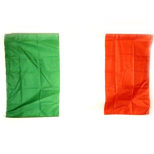 Les Trésors De Lily [L1098 - Drapeau 'Italie' Vert Blanc Rouge - 90x150 cm