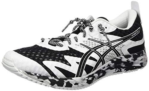 ASICS Herren Gel-Noosa TRI 12 Road Running Shoe, Schwarz/Weiß, 48 EU