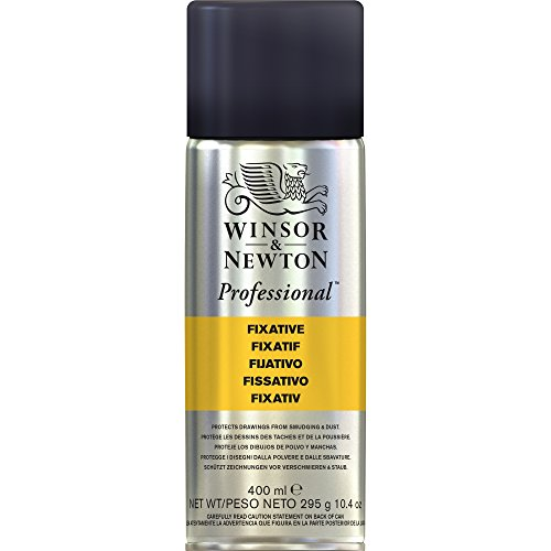 Winsor & Newton Artists' Aerosols Workable Fixative, Transparent – 400ML
