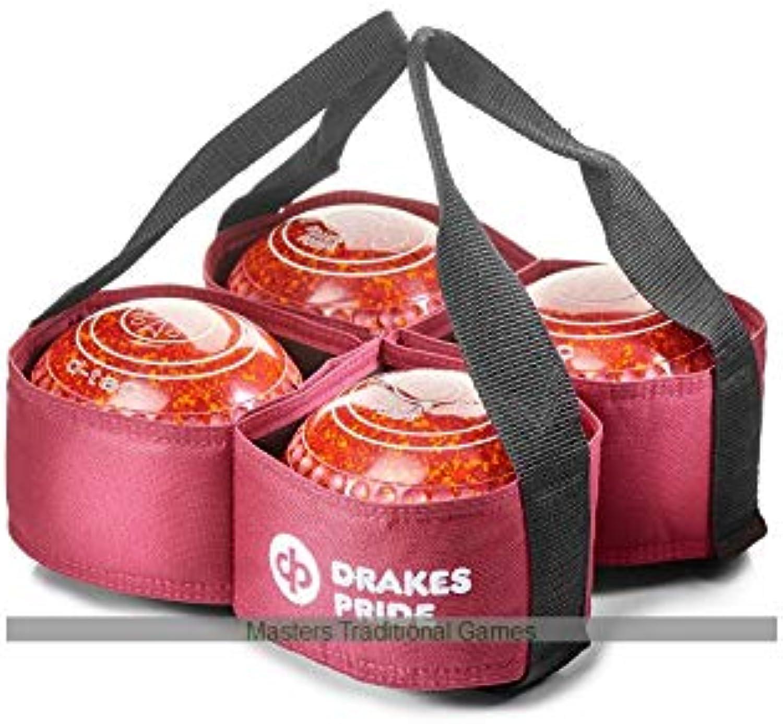 Drakes Pride 4 Bowl Carrier (Maroon)