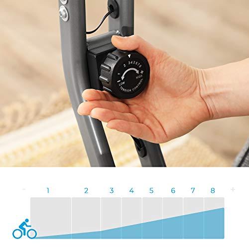 SONGMICS Bicicletas estáticas y de spinning