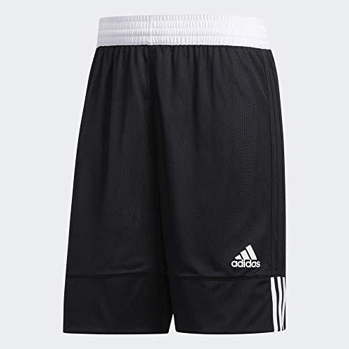 adidas 3G SPEE Rev SHR Pantaloncini Sportivi, Uomo, Black/White, M