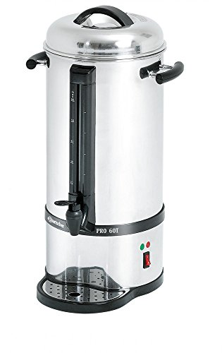 Café Percolateur, en acier inoxydable de 60 tasses - Bartscher A190165