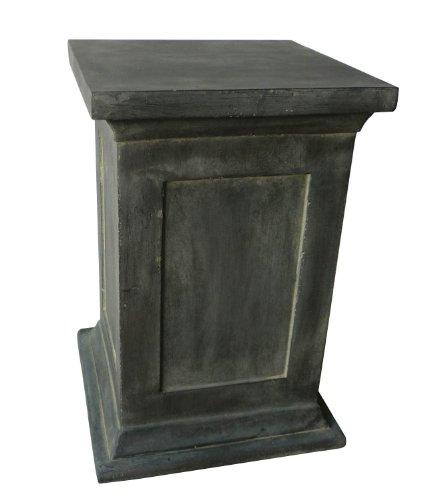 Pedestal para Figuras, Bustos y estatuas - para casa y jardín - Altura 50 cm - Gris