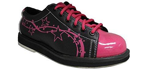 Pyramid Women's Rise Black/Hot Pink (Size 8)