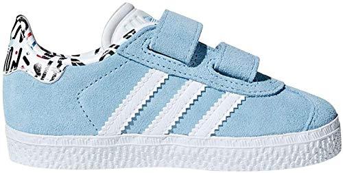 adidas Gazelle CF I, Zapatillas de Deporte Unisex niño, Azul (Azucla/Ftwbla/Azucla 0), 24 EU